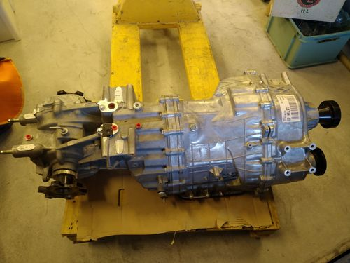 Nissan GT-R R 35 gearbox 550 ps version